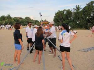 Beach Olympics Team building
