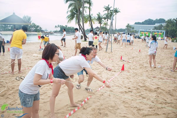 Beach Olympics Team building