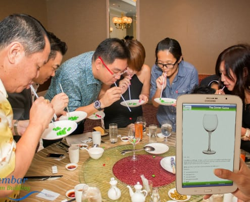 The Dinner Game Team Building Activity Page