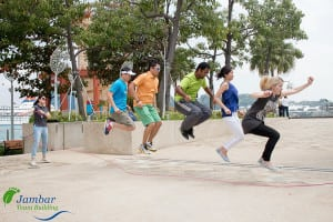 Running man challenge team building