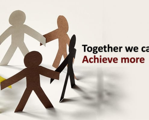 Together we can Acheive more Illustration