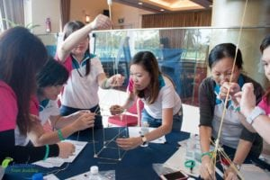 The marshmallow challenge team building