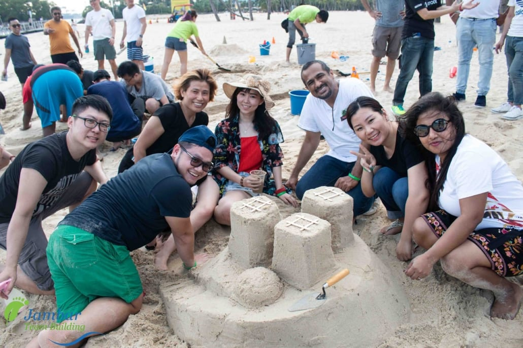sand castle team building
