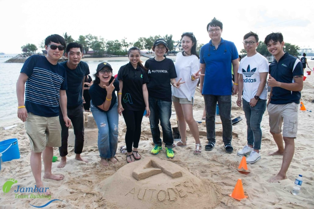 sand castle team building singapore