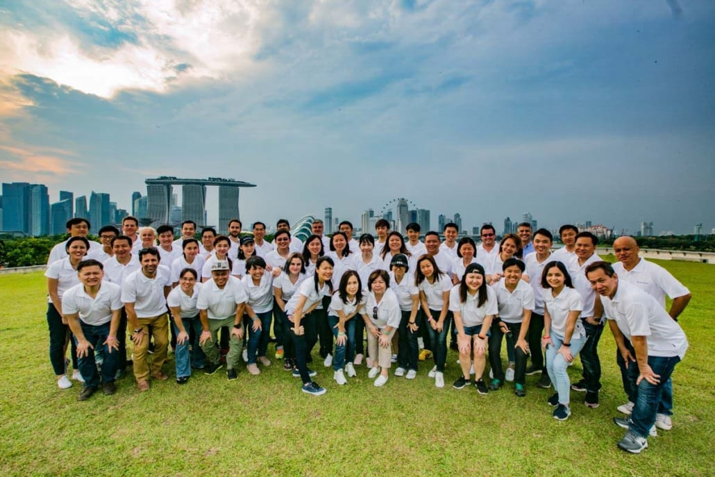 team building marina barrage