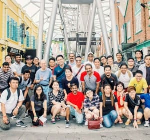 singapore team building clarke quay