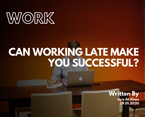 Can working late make you successful?