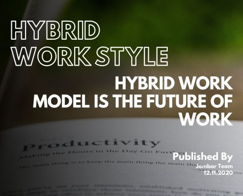 Hybrid Work Model is the Future of Work