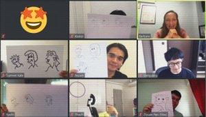 Virtual Sketch Noting